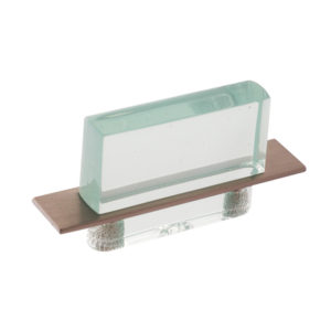 Contemporary Acrylic and Metal Pull - 2172