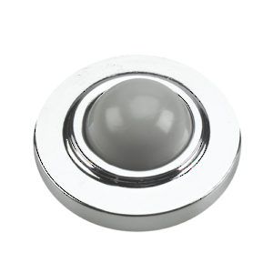 Wall Mount Door Stop - Convex