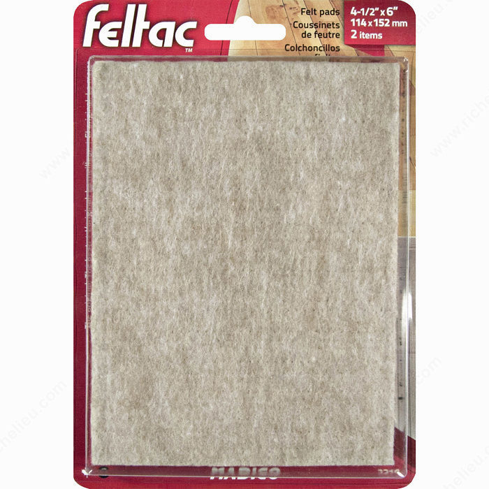 Feltacr heavy duty self adhesive sheet felt pads for Chair leg pads ace hardware