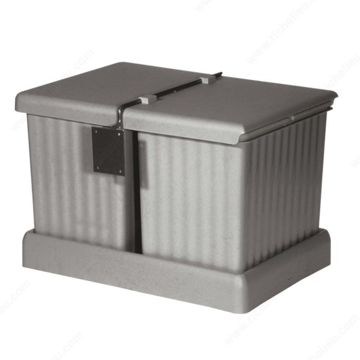 Wastebin Drawer - 2 x 16L-1