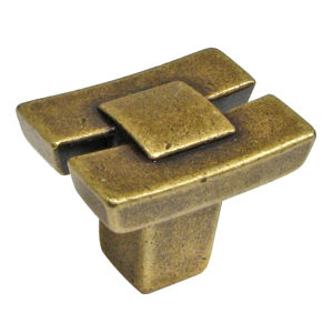 Transitional Brass Knob - 2403