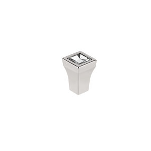 Transitional Swarovski Crystal and Metal Knob - 2421
