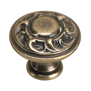 Traditional Brass Knob - 2440
