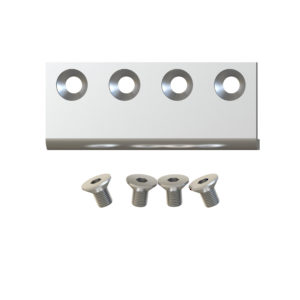 Connector Plate for Biparting Doors