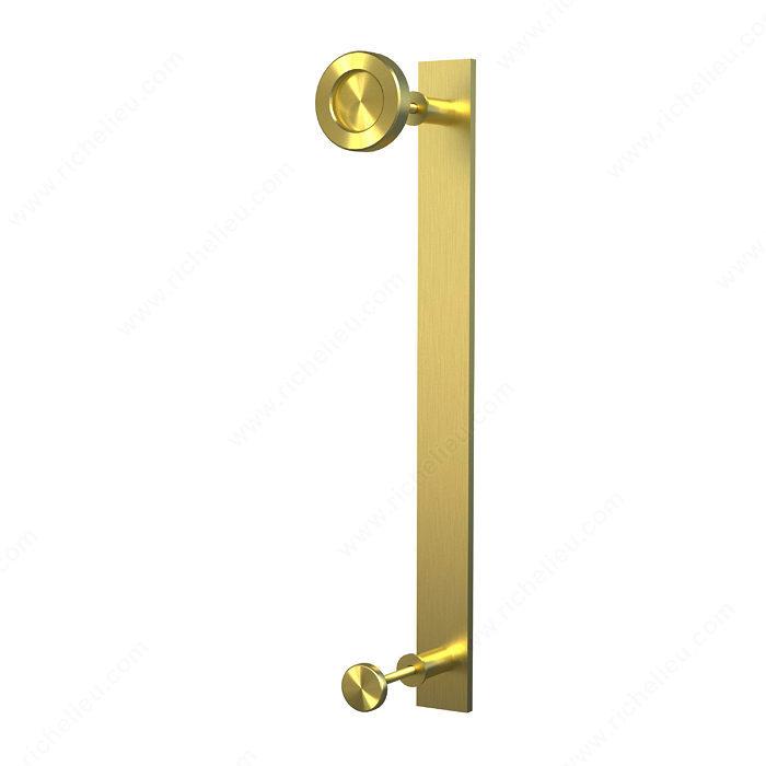 Poignée avec bouton pour portes de bois Quincaillerie Richelieu # Bouton De Porte Bois