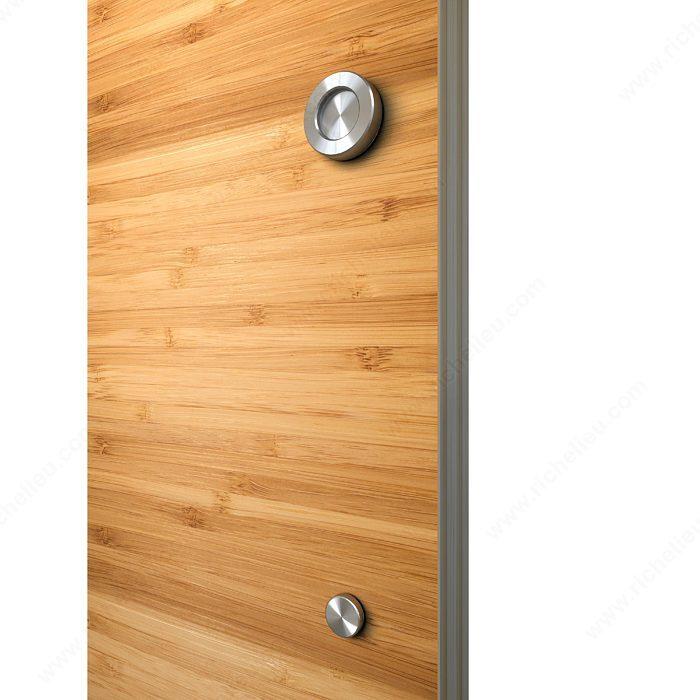 poign e avec bouton pour portes de bois quincaillerie richelieu. Black Bedroom Furniture Sets. Home Design Ideas