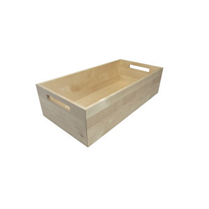 Wood Boxes with Handles