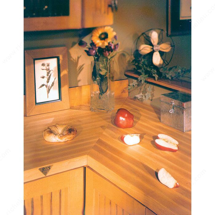 dessus de comptoir en bois solide quincaillerie richelieu. Black Bedroom Furniture Sets. Home Design Ideas