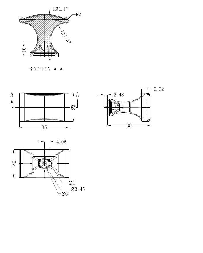 Traditional Metal Knob 2606 Richelieu Hardware