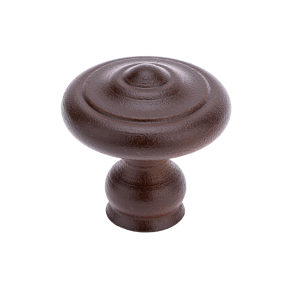 Traditional Forged Iron Knob - 2607