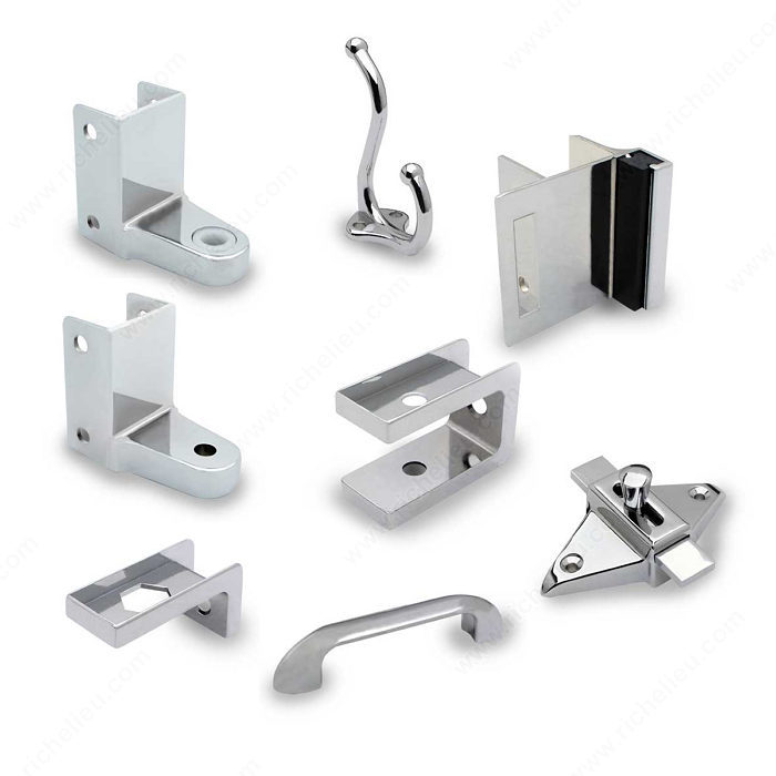 Hardware kit for outswing door richelieu hardware - Commercial bathroom stall door latches ...