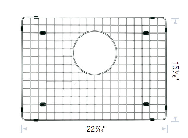Blanco Sink Grates : Blanco Sink Grid - 28346170 - Richelieu Hardware