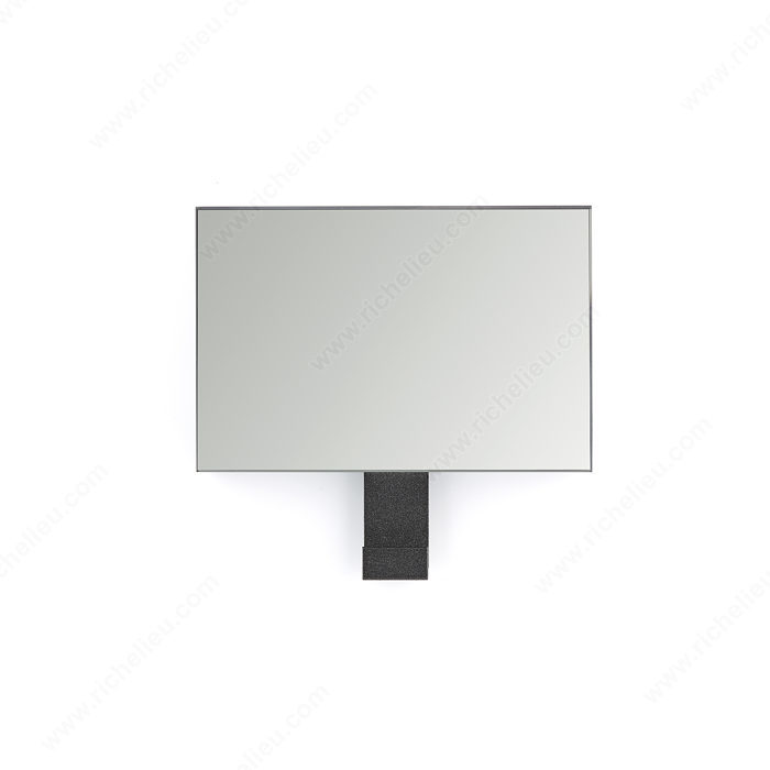 Crochet contemporain en acrylique avec miroir 283 for Miroir 150 projector