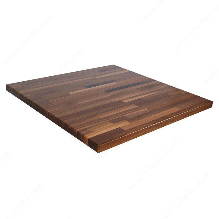 Dessus d 39 lot en bois mix quincaillerie richelieu for Dessus comptoir salle de bain