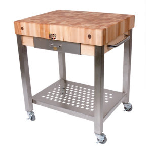 Butcher Block Table