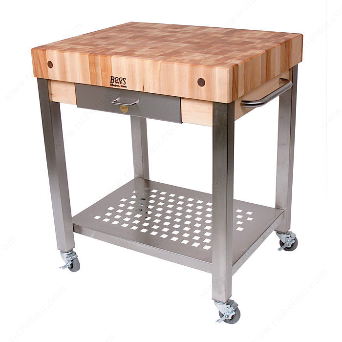 Butcher block table richelieu hardware watchthetrailerfo