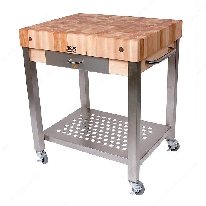 Table de boucher quincaillerie richelieu - Table de travail de boucher ...