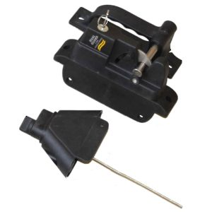 Polymer Gate Locking Latch - 2 Sided