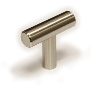 Contemporary Steel Knob - 305