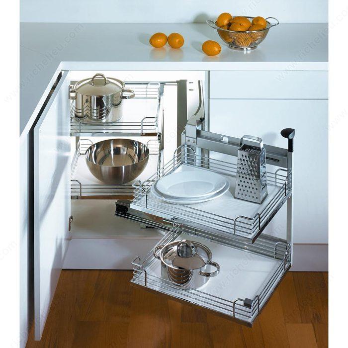 Kitchen Cabinet System: Frame For Magic Corner II System