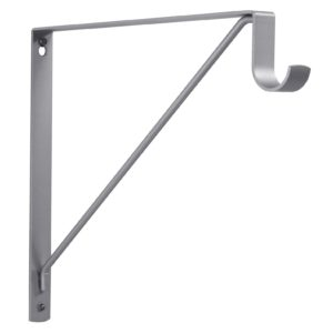 "Round Rod and Shelf Bracket - 3.33 cm (1-5/16"")"