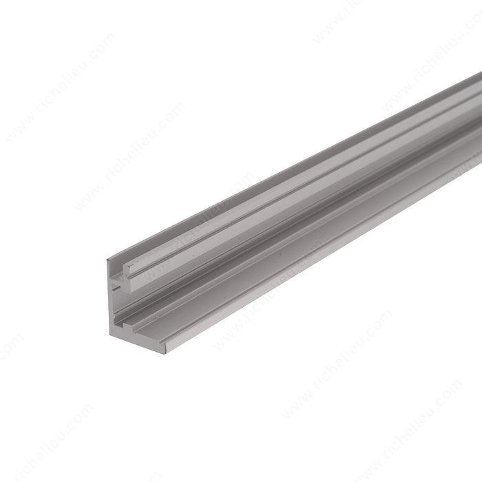 moulure de cadre de porte en aluminium pour le verre quincaillerie richelieu. Black Bedroom Furniture Sets. Home Design Ideas