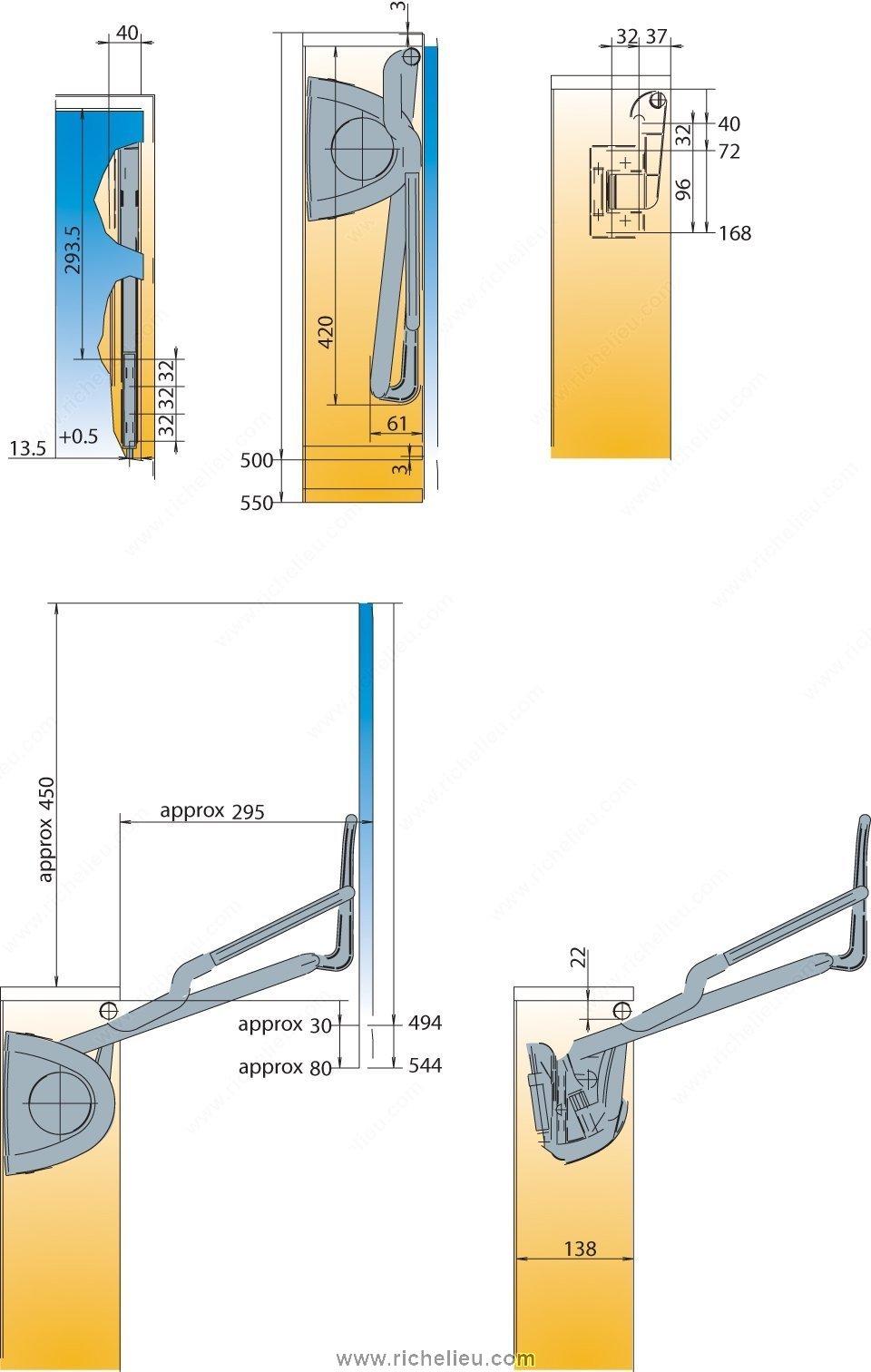 Vertical Door Lift Richelieu Hardware