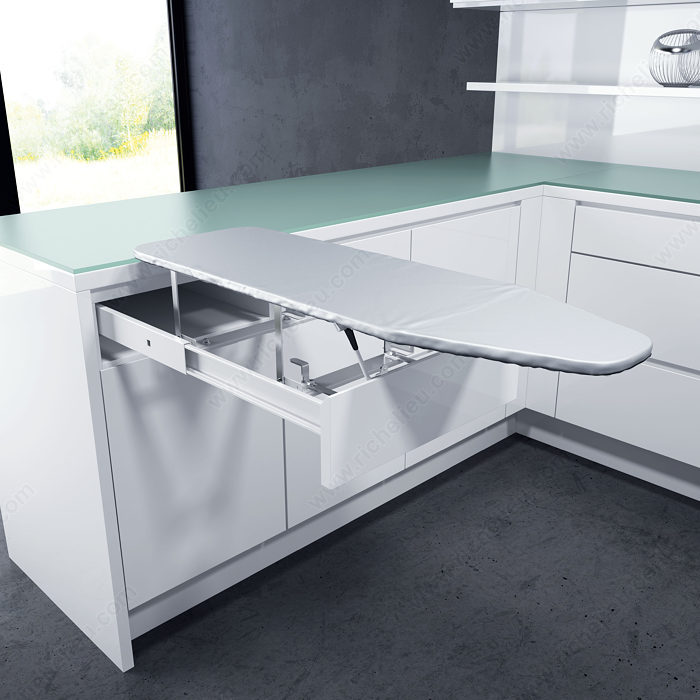 planche repasser de tiroir quincaillerie richelieu. Black Bedroom Furniture Sets. Home Design Ideas