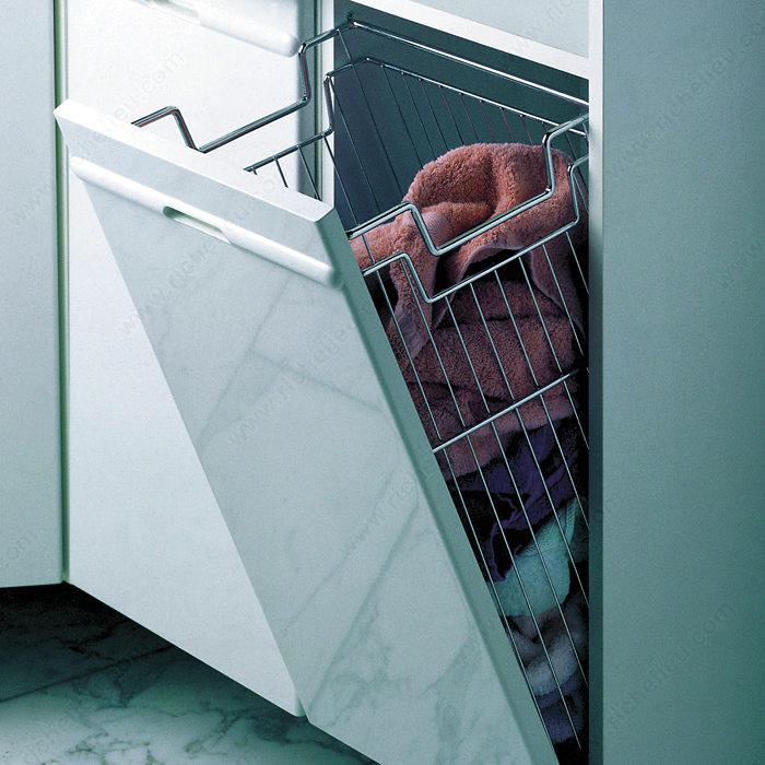 tilt out wire hamper richelieu hardware. Black Bedroom Furniture Sets. Home Design Ideas