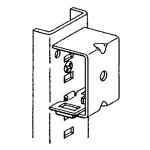 Series 3832 & 3834 Pilaster Mounting Bracket