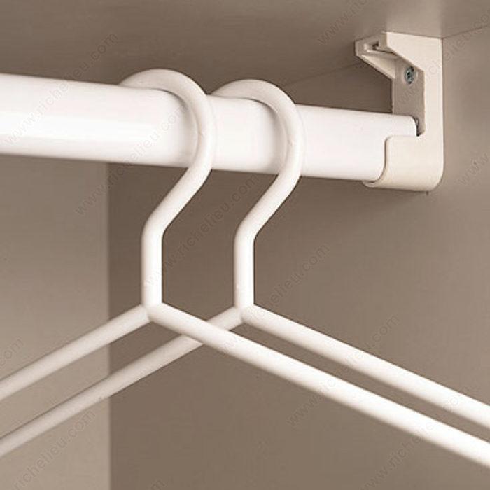 oval chrome closet rods 1