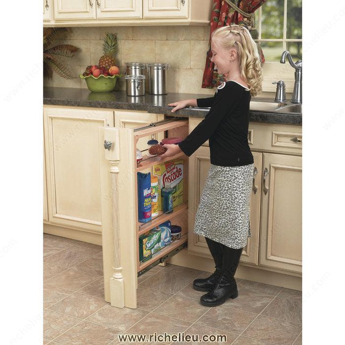 fileur coulisse fermeture amortie pour armoire du bas 1. Black Bedroom Furniture Sets. Home Design Ideas