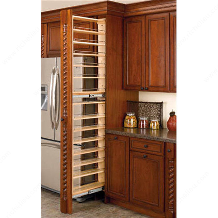 Tall Filler Organizer With Adjustable Shelves Richelieu Hardware