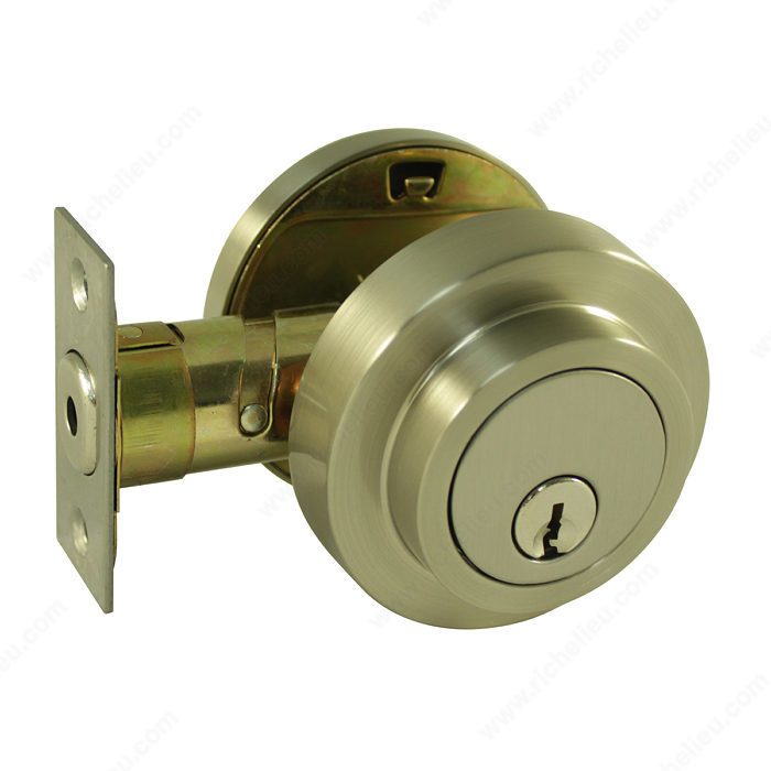Deadbolts Bridwell Series Richelieu Hardware