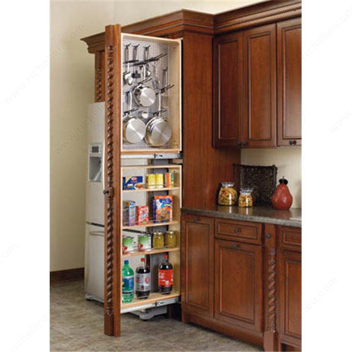 armoires garde manger troites avec panneau d 39 acier. Black Bedroom Furniture Sets. Home Design Ideas