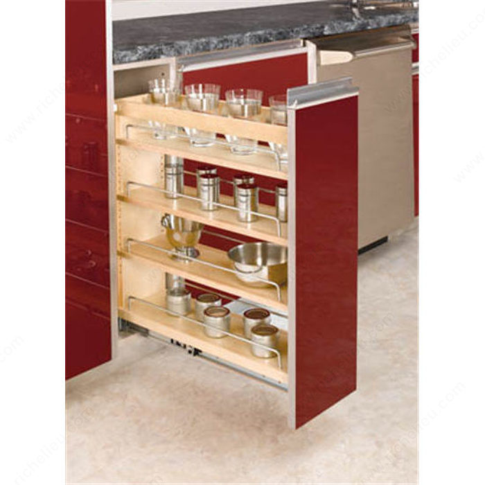 Pull-Out Organizer For Base Cabinet