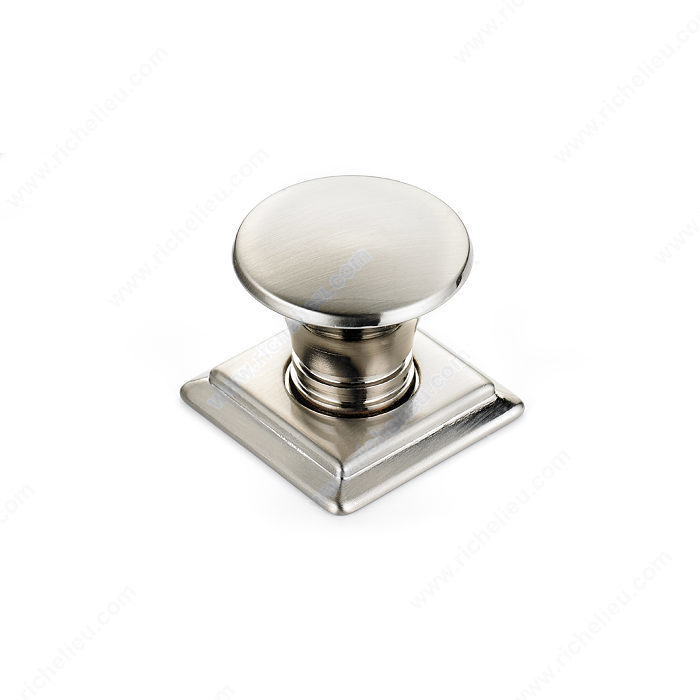 Contemporary Metal Knob - 467-1