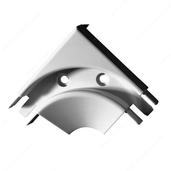 90 176 Elbow Track Surface Mount Richelieu Hardware