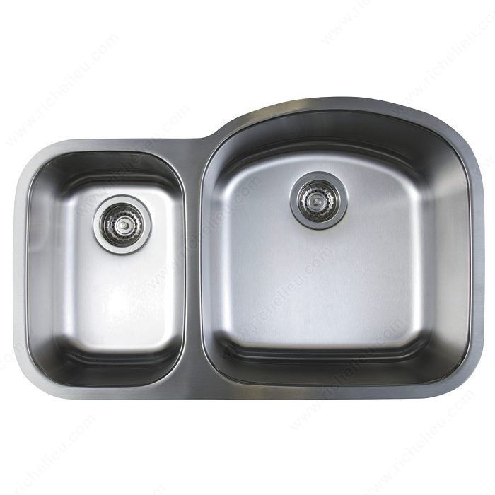 Blanco Sink Mats : Blanco Sink - Stellar U 1.6 Reverse Bowl - Richelieu Hardware
