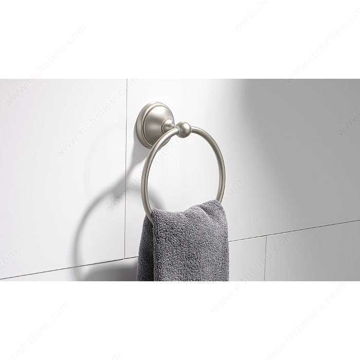 Towel ring empire collection richelieu hardware - Empire kitchen and bath ...