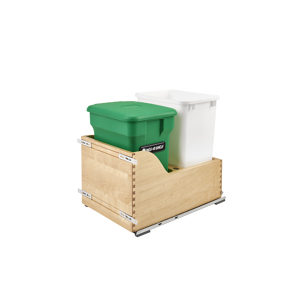 Recycling Center with Compost Bin