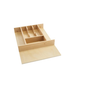 Tall Wood Cutlery Tray Insert