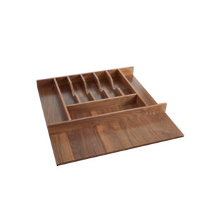 Short Wood Cutlery Tray Insert