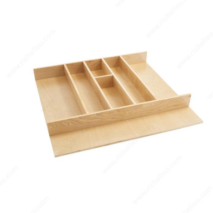diviseur ustensiles recoupable en bois quincaillerie richelieu. Black Bedroom Furniture Sets. Home Design Ideas