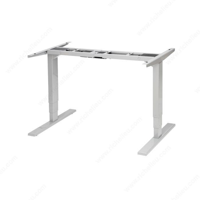 unite adjustable 2 leg base richelieu hardware