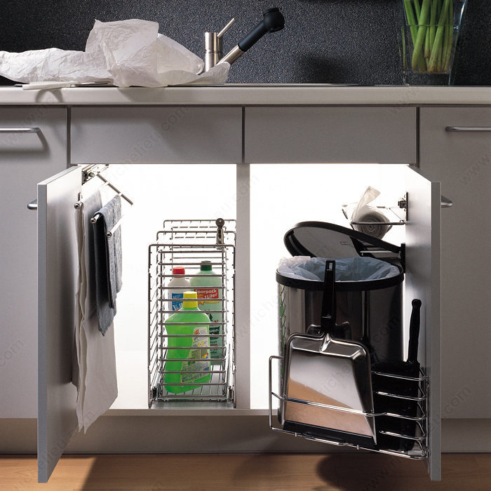 porte serviettes coulissant quincaillerie richelieu. Black Bedroom Furniture Sets. Home Design Ideas