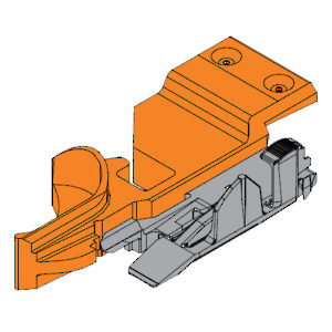 Tandem Locking Devices for Narrow Drawers