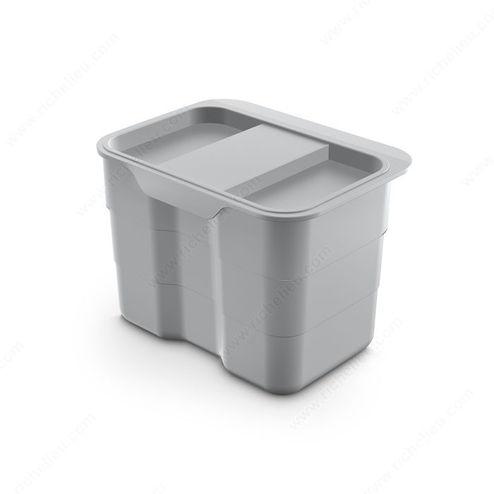 Poubelle pour compost quincaillerie richelieu - Poubelle compost pour cuisine ...