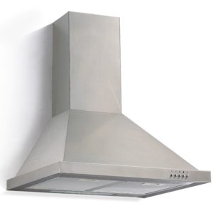 Stainless Steel Pyramid-Style Hood with Push-Button Control