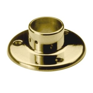 Floor Flange for Round Baluster Post